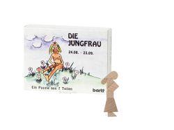 Knobelspiel/GeduldspielSternzeichen Jungfrau, Mini Puzzle