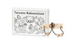 Knobelspiel/GeduldspielMini Puzzle Tarzans Kokosnüsse