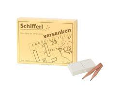 Knobelspiel/GeduldspielMini Spiel Schifferl versenken