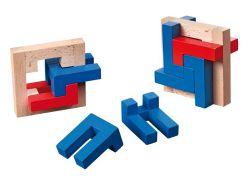 Knobelspiel/GeduldspielPackwürfel 4 L Puzzle