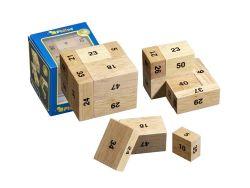 Knobelspiel/GeduldspielPackwürfel 100er Kiste