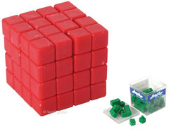 Knobelspiel/GeduldspielPackwürfel Abraxis 3D-Puzzle