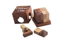Knobelspiel/GeduldspielPackwürfel Contrast-Cube