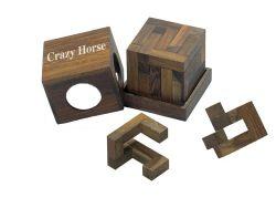 Knobelspiel/GeduldspielPackwürfel Crazy Horse