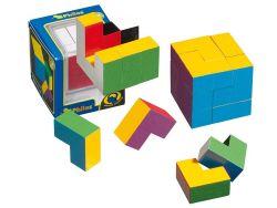 Knobelspiel/GeduldspielPackwürfel Farben-Würfel