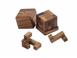 Knobelspiel/GeduldspielPackwürfel Juha-02