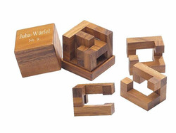 Knobelspiel/GeduldspielPackwürfel Juha-09
