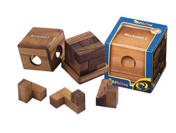 Knobelspiel/GeduldspielPackwürfel Werkstattwürfel I