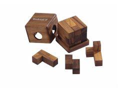 Knobelspiel/GeduldspielPackwürfel Werkstattwürfel II