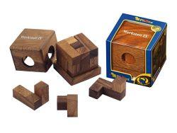 Knobelspiel/GeduldspielPackwürfel Werkstattwürfel IV