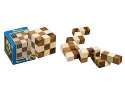 Knobelspiel/GeduldspielPackwürfel Schlangenwürfel klein