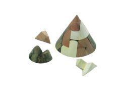 Knobelspiel/GeduldspielPuzzle Variante Kegel-Puzzle
