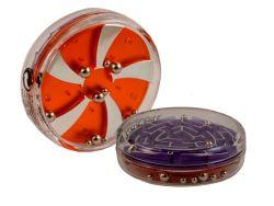 Knobelspiel/GeduldspielPuzzle Variante Flipside Kugellabyrinth 01