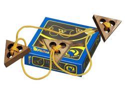 Knobelspiel/GeduldspielSeilpuzzle Triangelpuzzle