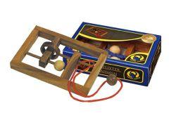 Knobelspiel/GeduldspielSeilpuzzle Verflixter Rahmen