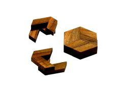 Knobelspiel/GeduldspielPuzzle mit Trick Hex-Puzzle 2