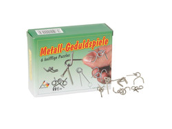 Knobelspiel/GeduldspielTaschenpuzzle Metall-Geduldspiele